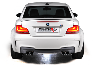 BMW 1-Series M Coupe with Milltek exhaust